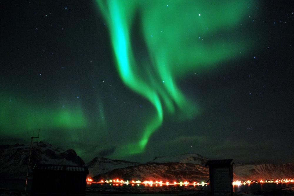 Colores y movimientos de las Auroras en Lofoten