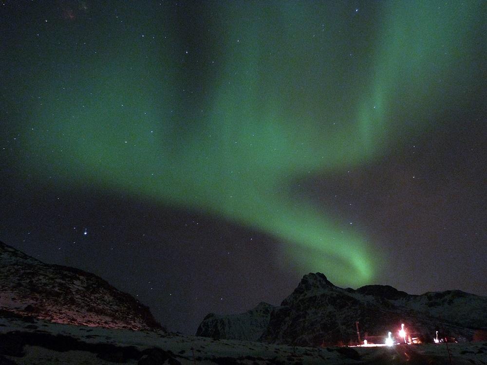 El cielo de Ramberg se ilumina con las Auroras