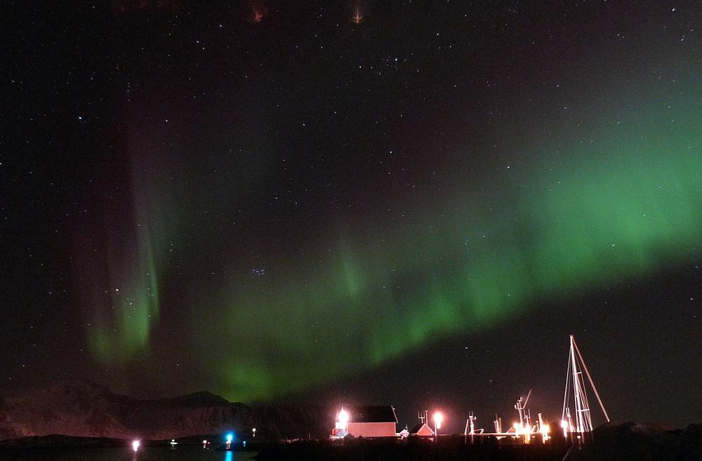 Las auroras bailando en Ramberg