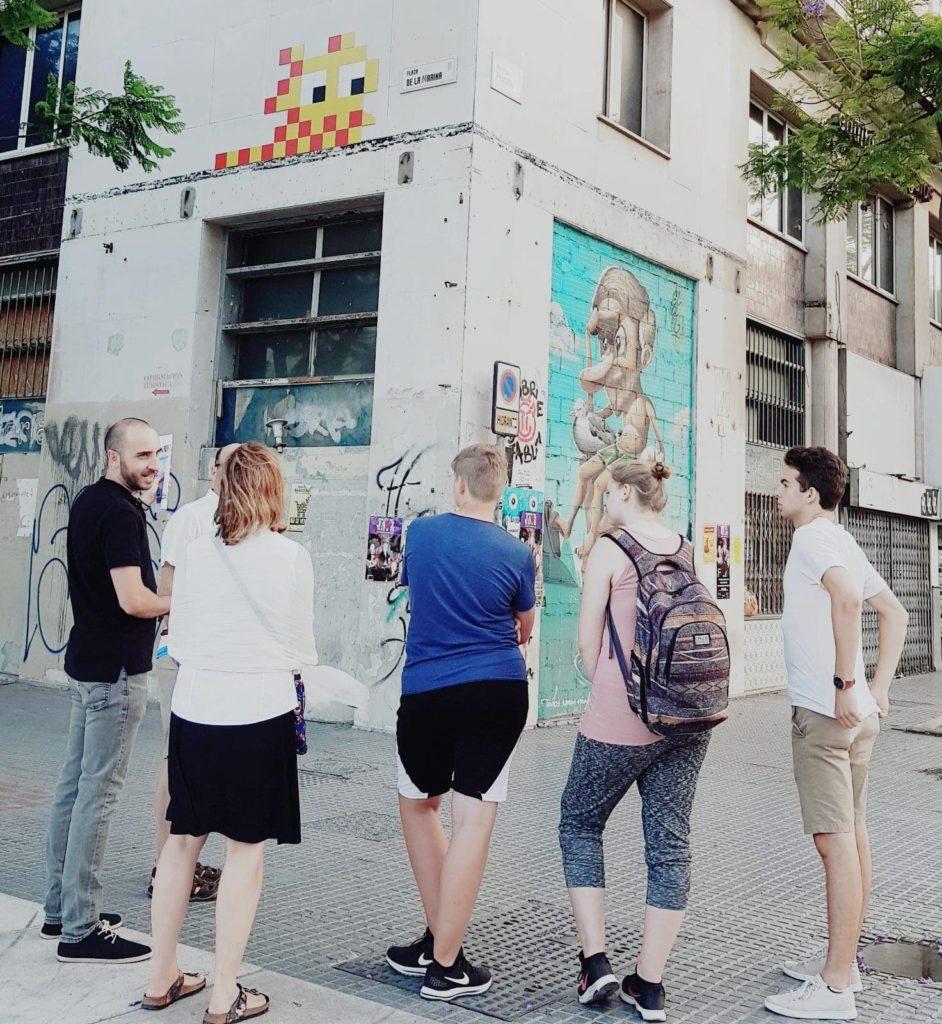 Tour de street art y graffiti por Málaga