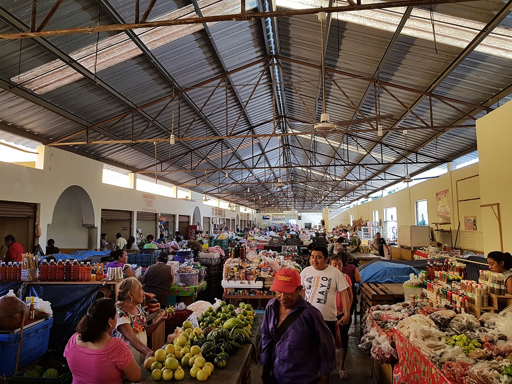 Mercado central de Valladolid