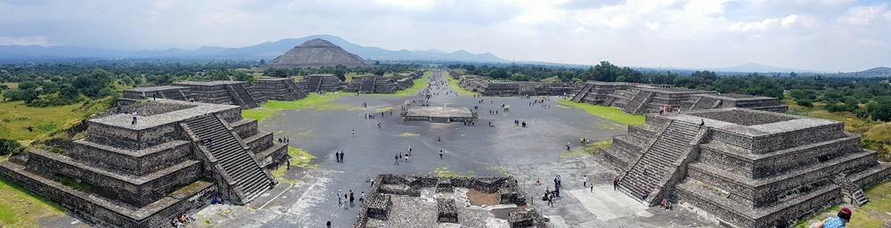 Panorámica de Teotihuacán